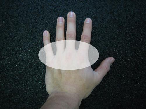 Распределение давления на руку