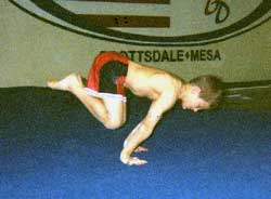Усложненная позиция с согнутыми ногами