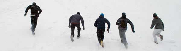 Тренировки в зимнее время года