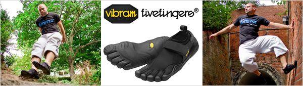 Обзор обуви Vibram FiveFingers