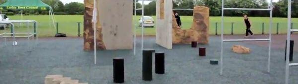 Паркур в Англии: В Уокингхеме соорудили новую тренировочную площадку для трейсеров