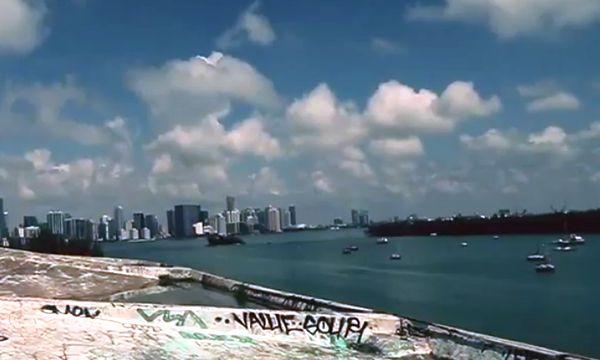 Паркур на Морском стадионе Майами