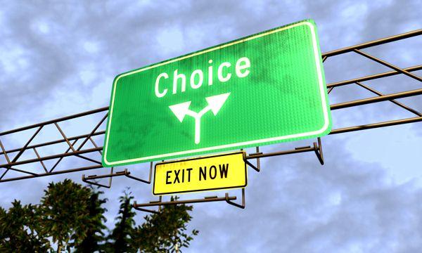 Парализован выбором