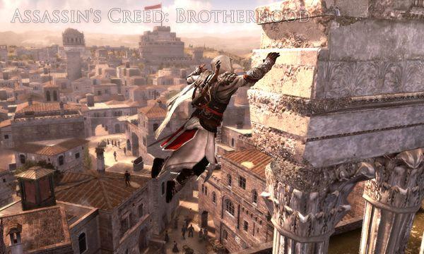 Обзор игр с элементами паркура (Assassin's Creed: Brotherhood)
