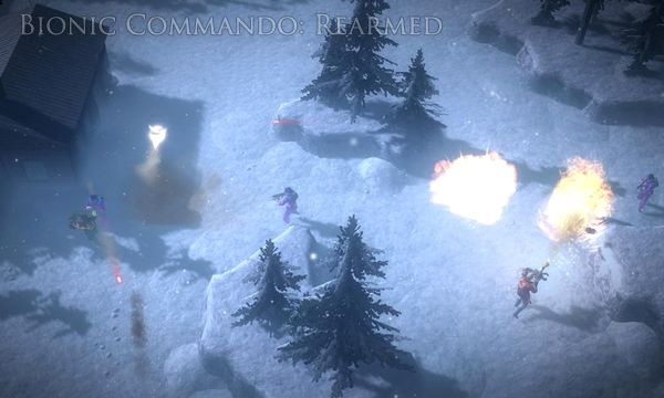 Обзор игр с элементами паркура (Bionic Commando: Rearmed)