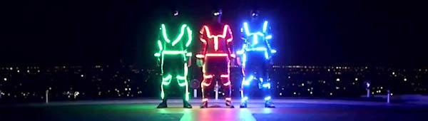 LED Freerunning от команды «Фаранг»