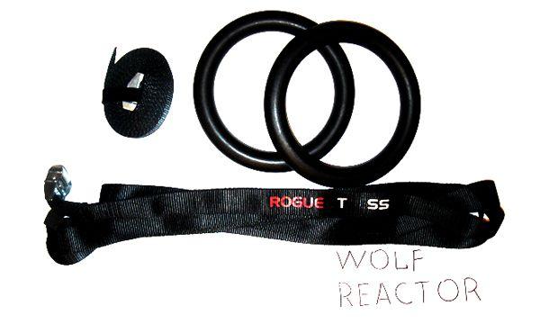 Экипировка для кроссфита: Rogue Rings мобильные гимнастические кольца