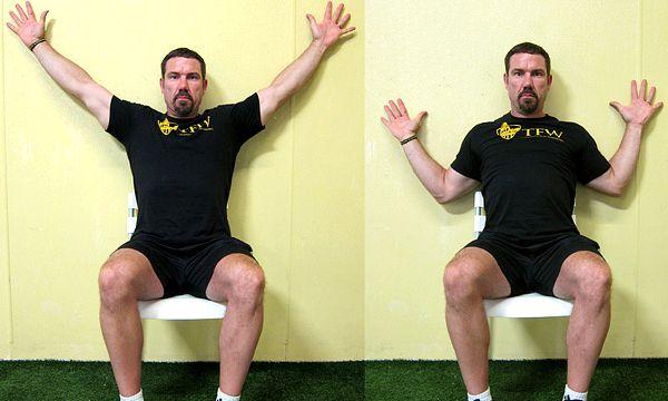 Приседай как чемпион - плечи к стене (Мартин Руни)