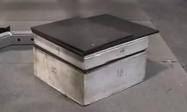 Ящик для отработки приседа