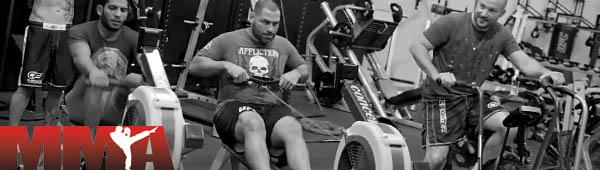 Силовые тренировки бойцов MMA