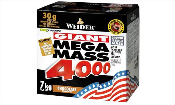 Гейнер Mega Mass от Weider (для хардгейнеров)