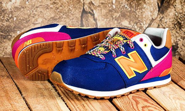 Дизайн кроссовок New Balance 574