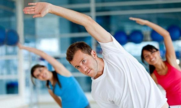 Разогрев мышц и суставов