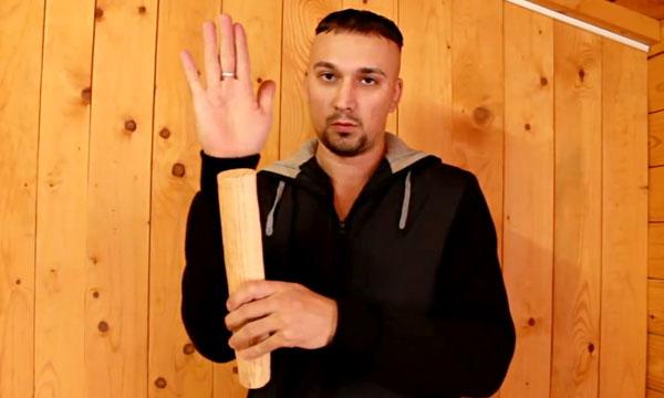 Размер палки для упражнений. Сильные руки не вставая с дивана.